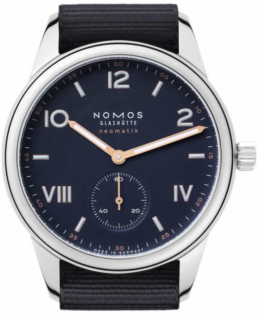 NOMOS GLASHÜTTE CAMPUS NEOMATIK 39 MIDNIGHT BLUE