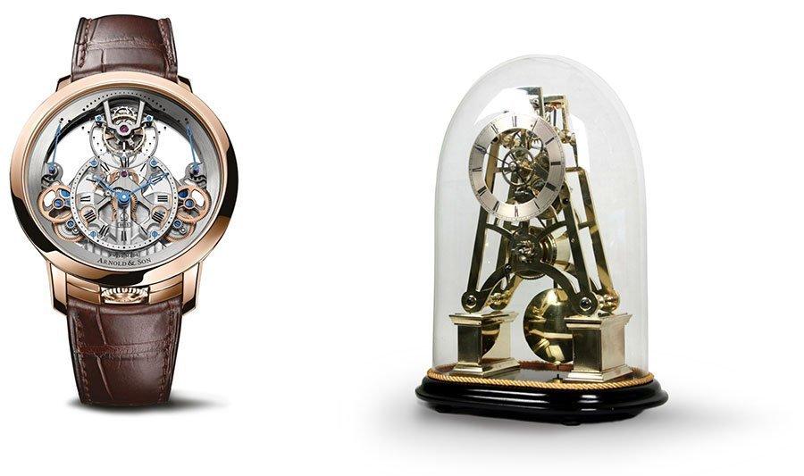 ARNOLD & SON TIME PYRAMID TOURBILLON RED GOLD