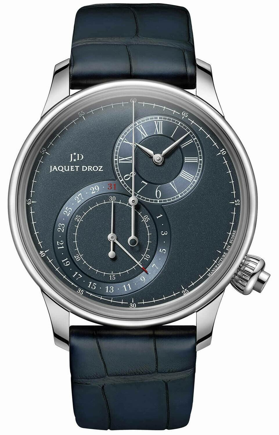 Jaquet Droz Grand Seconde Off-centered Chronograph Blue