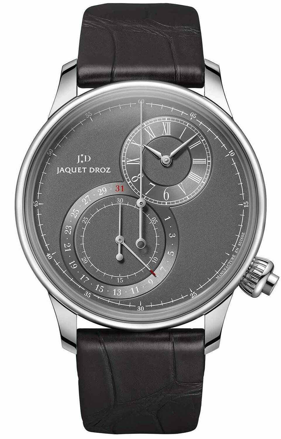 Jaquet Droz Grand Seconde Off-centered Chronograph Gray
