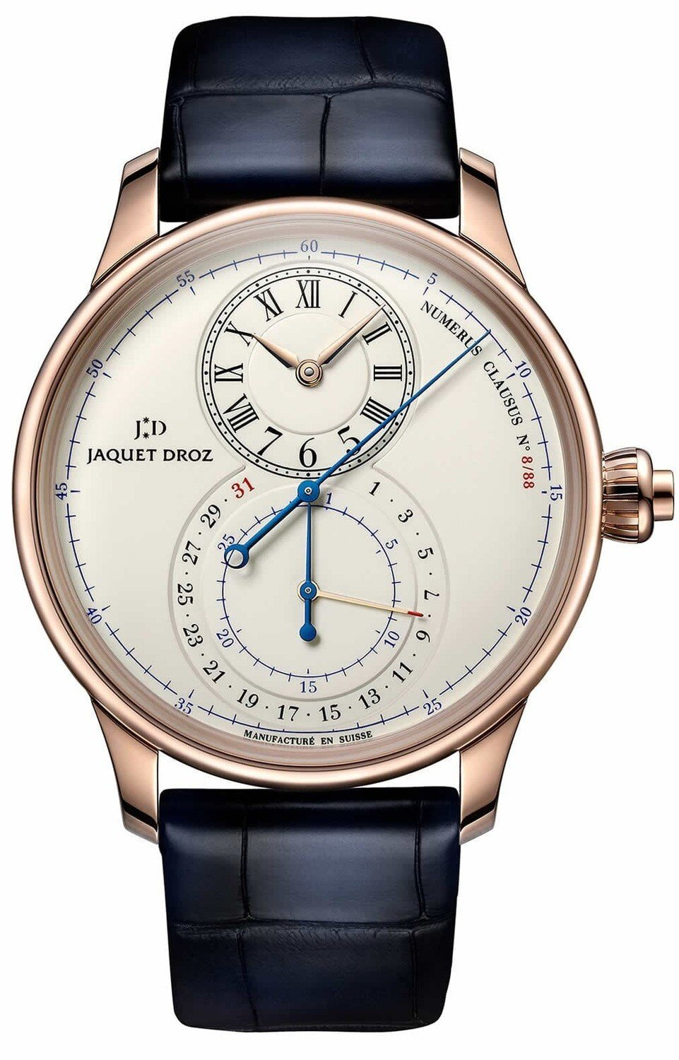 Jaquet Droz Grand Seconde Chronograph Ivory Enamel