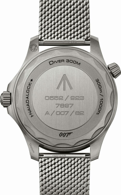 Omega Seamaster Diver 300 007 Edition - Back