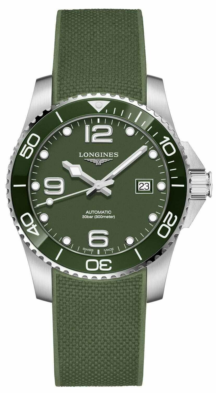 Longines Hydroconquest Green L3.781.4.06.9