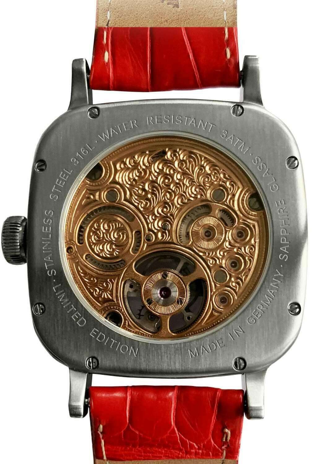 Alexander Shorokhoff Tourbillon Picassini - back
