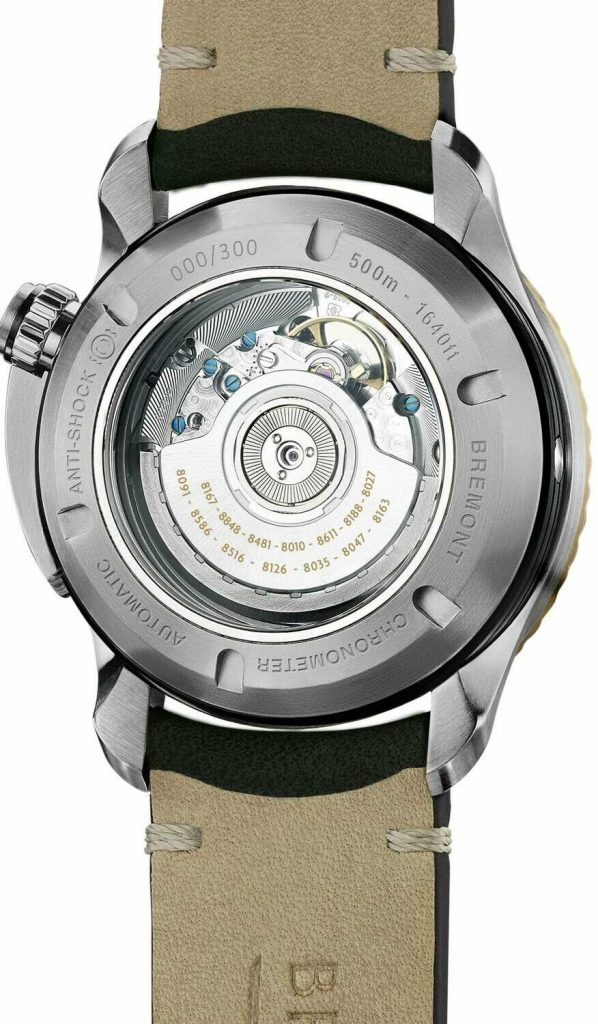 Bremont Project Possible Back